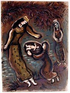 Chagall_Exodus_BabyMoses